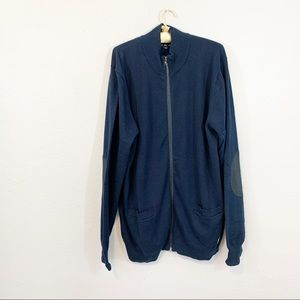 Five Four Mark McNairy Mens MILES Cardigan Sweater